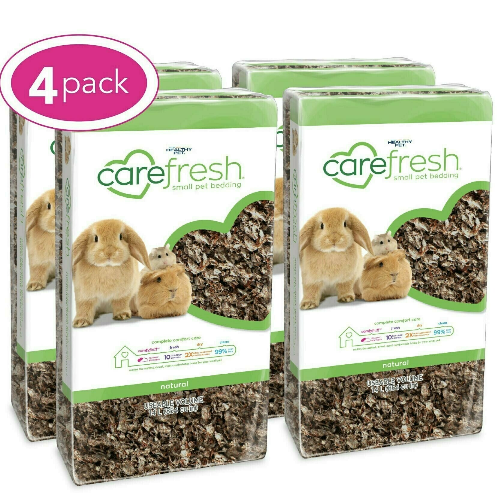 Carefresh cage bedding for the guinea pigs, aka GP toilet paper