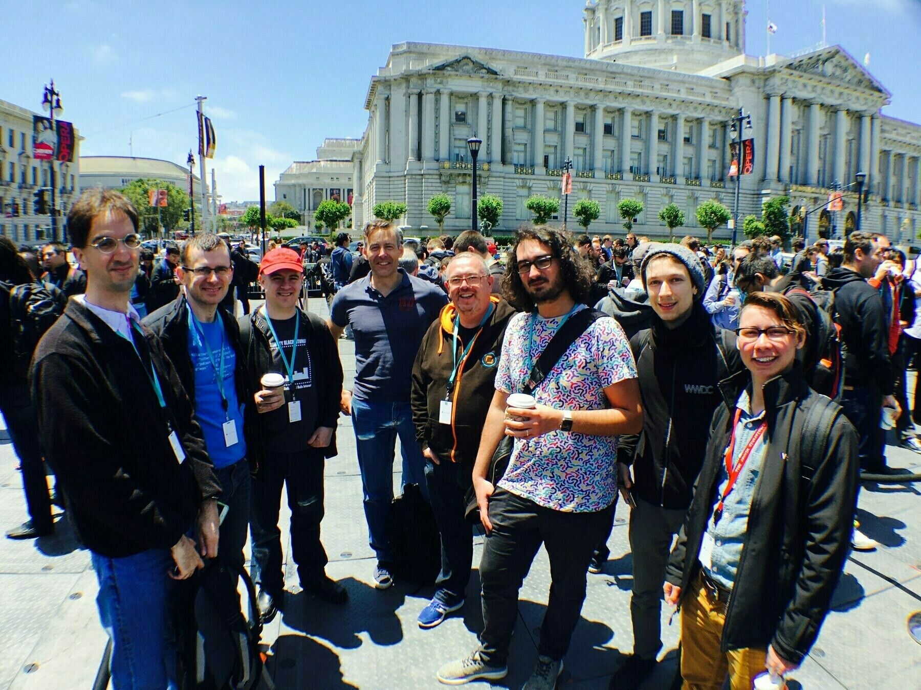 Group of developers at WWDC