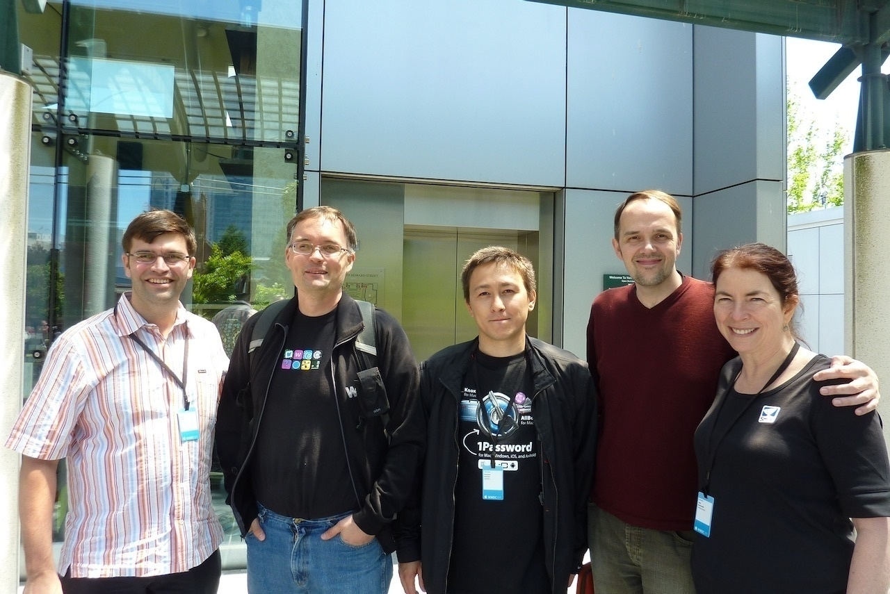 Smile and 1Password teams